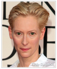 Tilda Swinton hairstyles